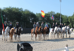 I International Team Competition of Working Equitation