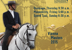 Working Equitation at the Global Champions Tour in Vienna