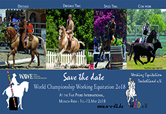 World Championship Working Equitation - Munich 2018